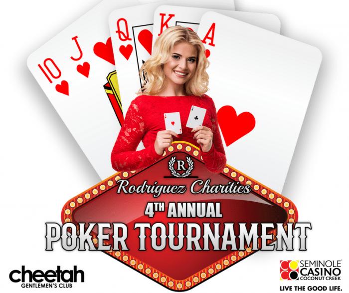 Rodriguez Charities 4th Annual Poker Tournament at Seminole
