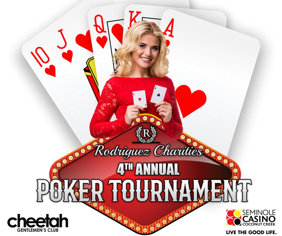 Rodriguez Charities 4th Annual Poker Tournament