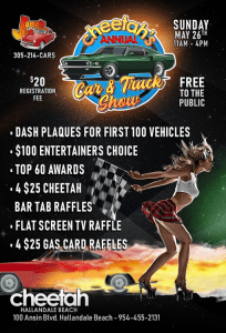 Cheetahs Annual Car & Truck Show May 2019 other side