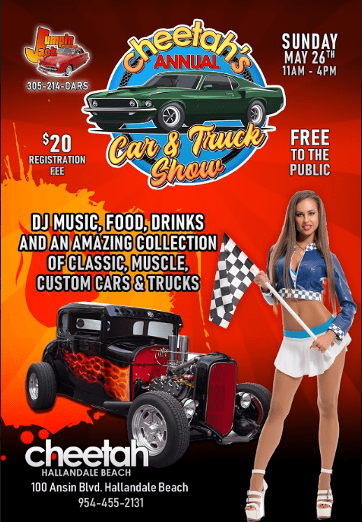Cheetahs Annual Car & Truck Show May 2019