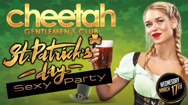 Cheetah St. Patty's Day Sexy Party